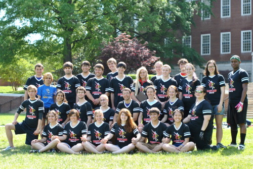 Spring semester team photo [April 29, 2012]