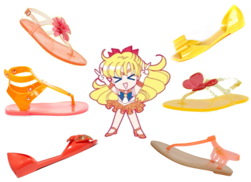 And thus it was born, Jelly Flats: A Sailor Venus Story