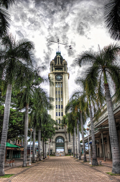 Aloha Tower - HDR on Flickr. Aloha Tower - HDR