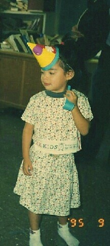 "iheartfx:  [ME2DAY] 120502 f(Krystal) - Update with Amber's Childhood Photo   ""amber josephine liu's 3rd birthday party""    Source: Krystal's me2day   Guys.  Its a baby picture war."