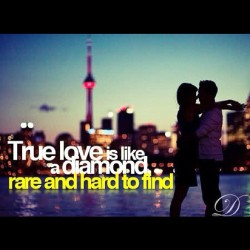 jossygotswaq:  Love Is Rare .#love #swag #ocean #life #diamond #rare #couples (Taken with instagram)