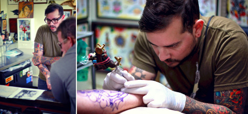 Bill: The Tattoo Artist Tustin ©Nico Marino