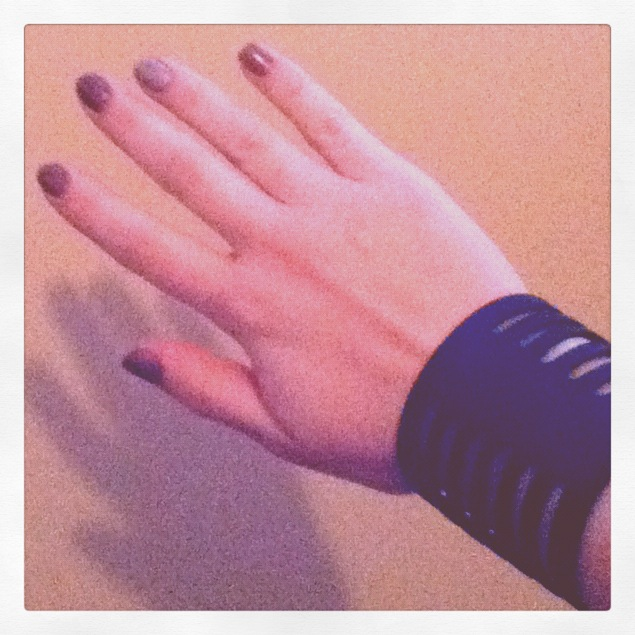 New cuff, new nailpolish!