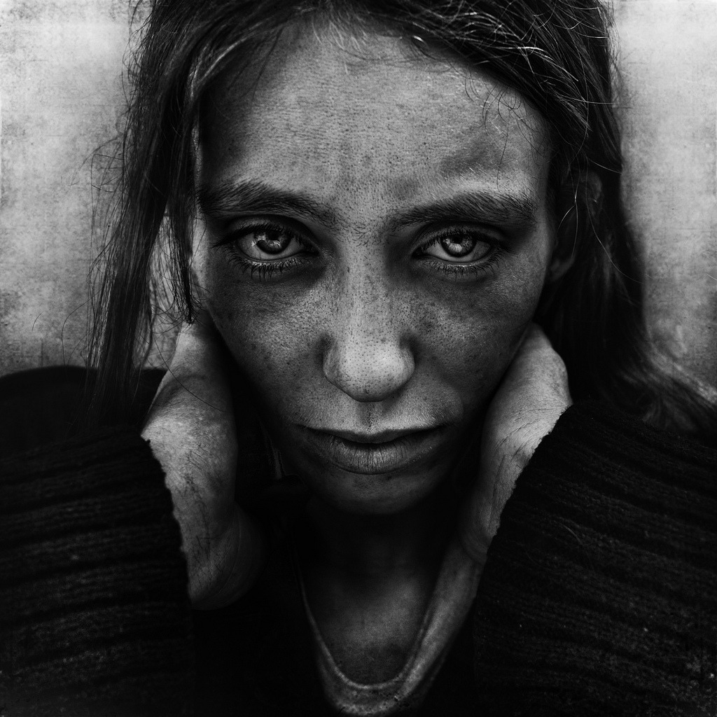 LJ, Michelle, from the Homeless Series