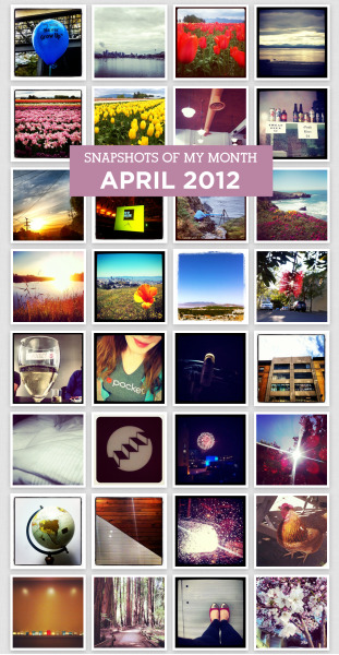 It's May already?! Man, oh man. April was definitely one for the books for me. Work was at an all-time 'crazy,' but thankfully we got to get out of dodge at the end of the month and sneak in a bit of R&R in Sea Ranch, CA and Seattle. But, I still have a lot of catch-up to play in order to kick off a new month with my head above water. Gulp. Bring it on, May! How was your April, ladies? Love, Nik