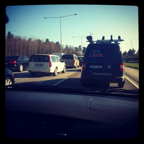 Jippi bilköer! #car #cars #not #fun #2012 #iphone4 #instagram #instadaily #ig #morning #may  (Taken with instagram)