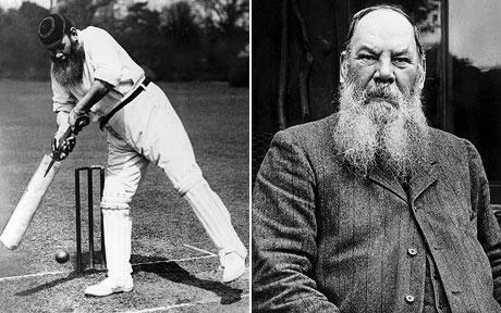 CELEBRITY OF THE WEEK Name: WG Grace Description: He's been described as one of the greatest of all time and with hair like that who could argue! What he lacks up top he certainly makes up for down the order!