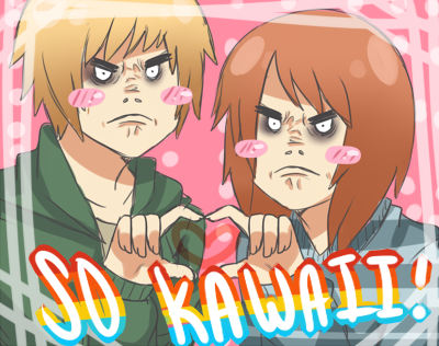 LIKE/REBLOG IF YOU ARE KAWAII~
