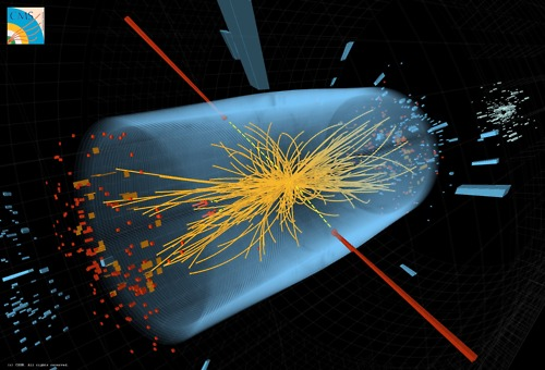 "New ""Beauty Baryon"" Particle Discovered at Large Hadron Collider""It's just the second new particle to be discovered at the atom smasher where physicists also seek the elusive Higgs boson particle.""  ""A never-before-seen subatomic particle has popped into existence inside the world's largest atom smasher, bringing physicists a step closer to unraveling the mystery of how matter is put together in the universe. After crashing particles together about 530 trillion times, scientists working on the CMS experiment at Switzerland's Large Hadron Collider (LHC) saw unmistakable evidence for a new type of ""beauty baryon."" Baryons are particles made of three quarks (the building blocks of the protons and neutrons that populate the nuclei of atoms). Beauty baryons are baryons that contain at least one beauty quark (also known as a bottom quark). The new specimen is a particular type of excited beauty baryon called Xi(b)*, pronounced ""csai–bee-star.""""  Read more on Scientific American   Any thoughts on this, guys?"