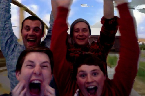 photobooth rollercoaster
