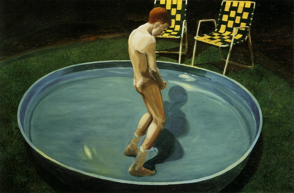 Eric Fischl - Sleepwalker, 1979. Oil on canvas