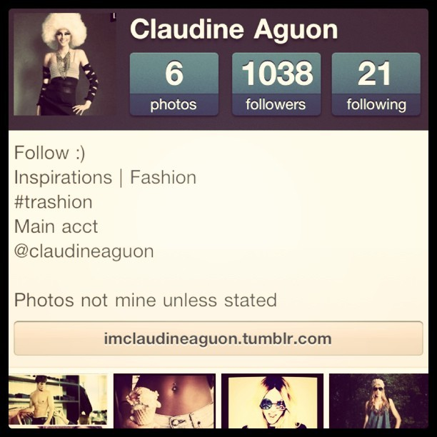 121 - May 1 2012 Just in case some of you wanna follow my other instagram :)Random posts on styles, shoes, hair. Fashion, that is. @allthingsinspired @allthingsinspired@allthingsinspired