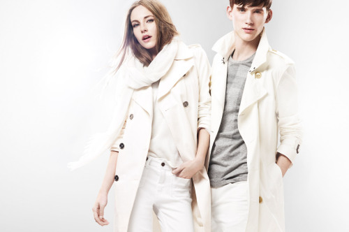 Burberry Brit White Collection