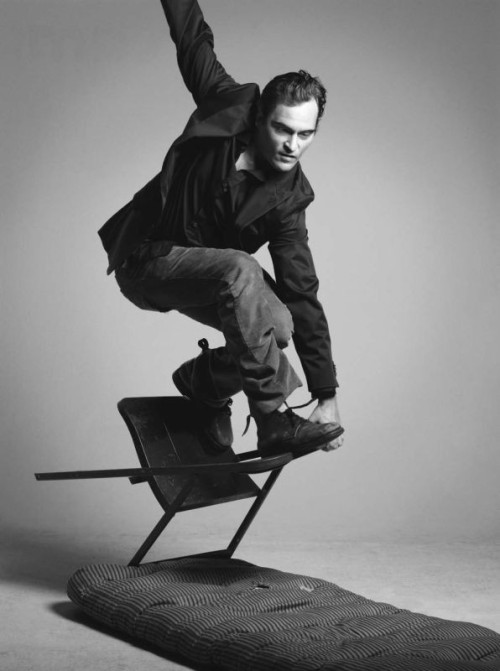bohemea:  Joaquin Phoenix by Mark Abrahams, 2007