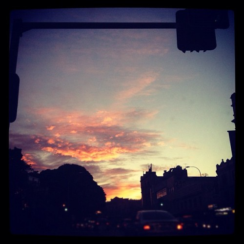 Day 2- Skyline - driving home from work #photoadaymay #skyline #sunset #sydney  (Taken with Instagram at Broadway Shopping Centre)