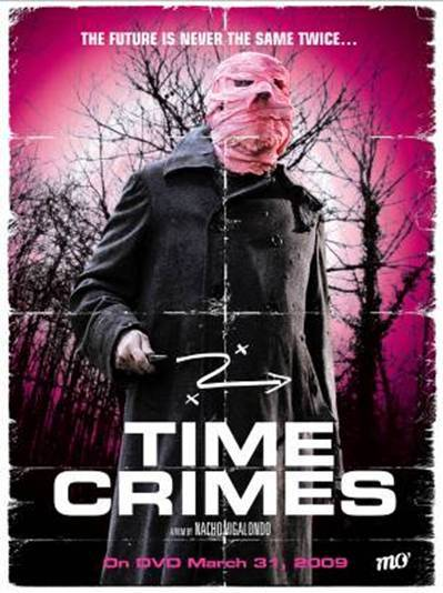 OMFG Los Cronocrimenes (AKA TimeCrimes) was such a fusking good movie!!!!!   7.2 on IMDB 4½ out of 5 on netflix…..you have to see this movie, it is a really good time traveling film. wow just wow that's all i have to say….. oooo and its a movie from Spain so obviously its in Spanish but still its a really good movie :) oooo and just to let you know it was such a good movie the US is planning on remaking it so find a copy or look it up on netflix :) and be one of the kool kids that can say you watched it before it was cool.