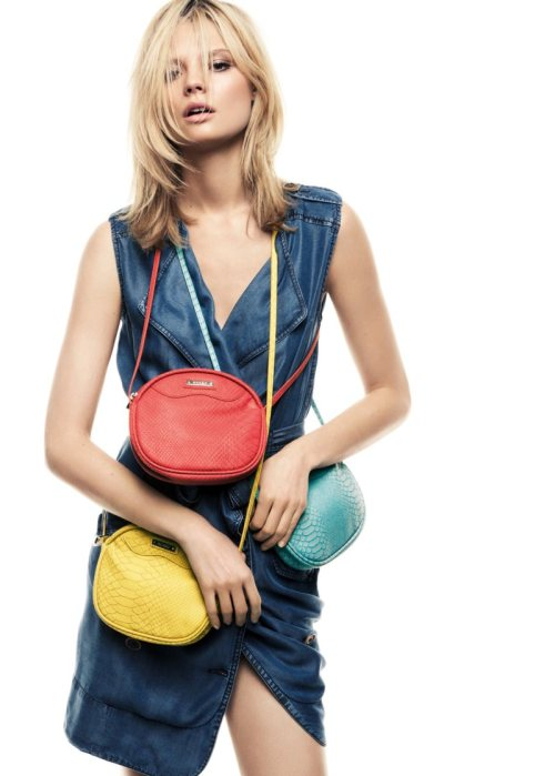 fuckyeahvintagediary:    Magdalena Frackowiak for Mango Summer 2012 Collection