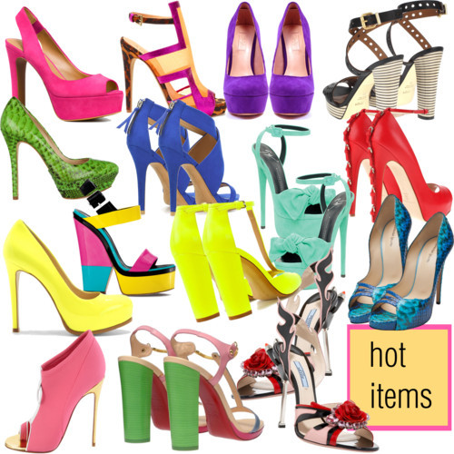Hot items of 2012 by justsweet featuring platform pumps