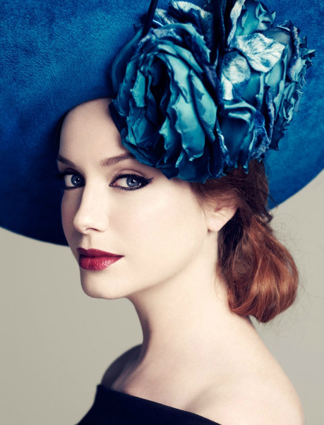 bohemea:  Christina Hendricks - LA Times by Joshua Jordan, July 2010