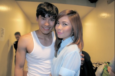 yengconstantino:  Me and Enchong… :)   si idol at so cruuuussshhhh