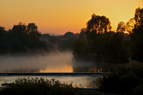 Vaal River Sunrise mist on Flickr.