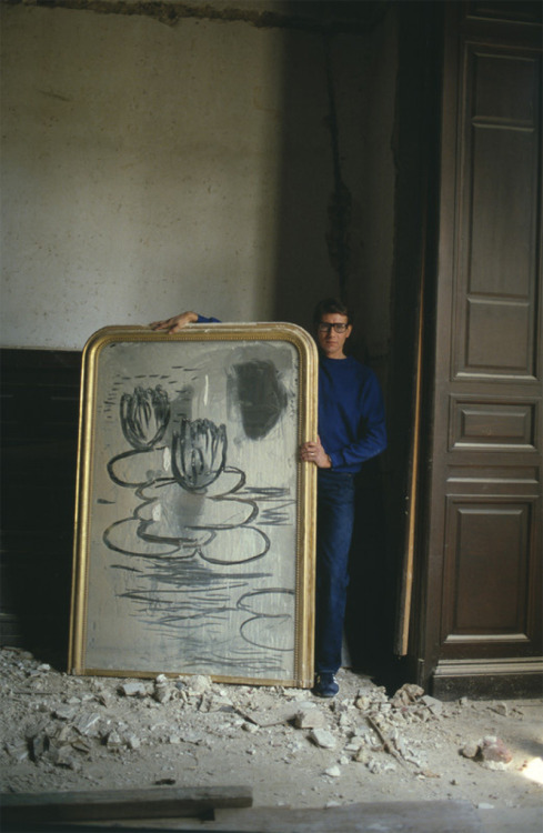Yves Saint Laurent, Paris 1980. Photo: Lord Snowdon