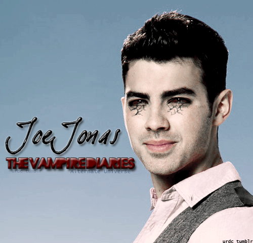 urdc:  Joe Jonas in The Vampire Diaires (Alternate Universe)