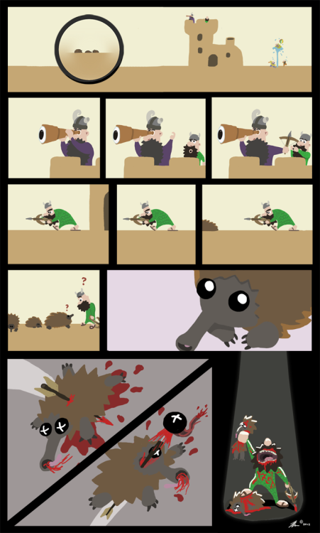 Part 3 of a fortress explained in cartoon form by RevengeOfTheFun. Check the site regularly for more.