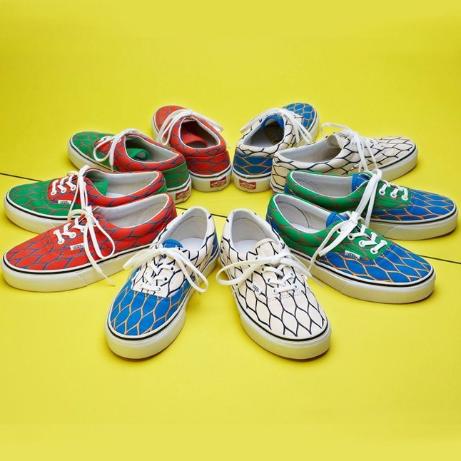 See the Kenzo collaboration with Vans exclusive to Harvey Nichols