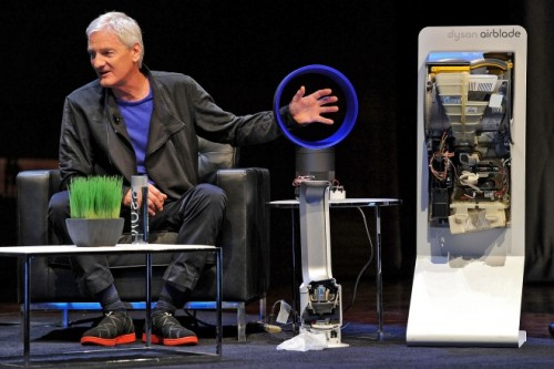 "wildcat2030:  Sir James Dyson: Design Is Everyday Problem Solving Sir James Dyson developed his first cyclonic bag-less vacuum cleaner 20 years ago. It took him five years and thousands of mistakes to develop this disruptive technology. But, he said Tuesday at The 2012 Wired Business Conference, ""there's nothing wrong with things taking time."" Of course, there wasn't much support when the first Dyson vacuum was released. But, as with all good ideas, those who resisted Dyson's technology soon began to copy it. The original Dyson vacuum came from a simple frustration (""anger is a good motivator,"" Dyson said later), and the removal of the problem that caused this frustration. ""Design is just problem solving,"" he said.""I'm a designer and an engineer, I get angry about things that don't work, like hand dryers, endless paper towels, what a huge waste."" But, he said, ""what if you could scrape water off your hands with a blade of air?"" (via Sir James Dyson: Design Is Everyday Problem Solving 