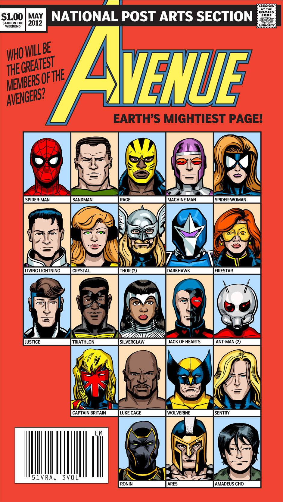 nparts:  It's Day 3 in our Avengers Assemble tournament! So far, Ms. Marvel and Iron Man have beaten out the competition to be voted your favourite Avengers. But who's your pick of the bunch today? Read all about each Avenger here, then vote for your favourite in the poll!