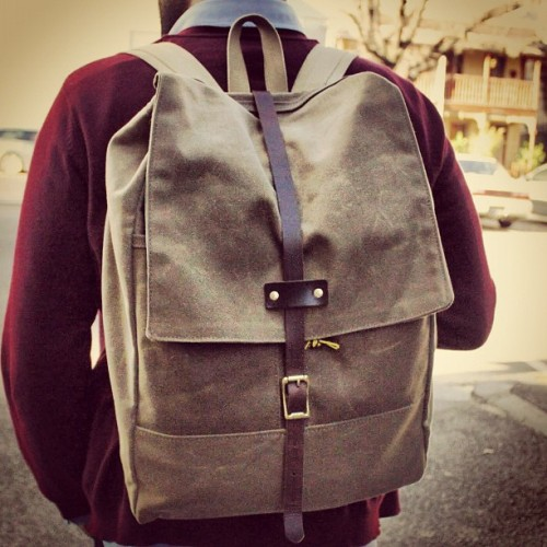 Backpack | Archival Clothing (Taken with instagram)