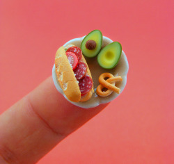 julienfoulatier:  Incredible miniature food.