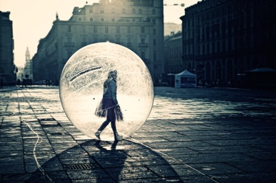 The Girl in the Ball by Davide DAmbra
