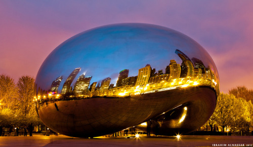Chicago through the bean by Ibrahim Alnassar