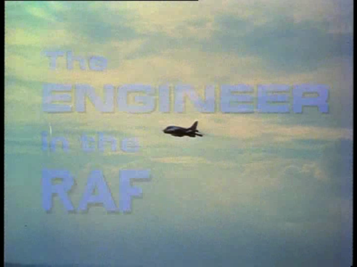 The Engineer in the RAF You could get away with stock footage in 1977—of course, these days you can freeze-frame stuff on DVD. From The New Avengers' episode, 'Obsession'.