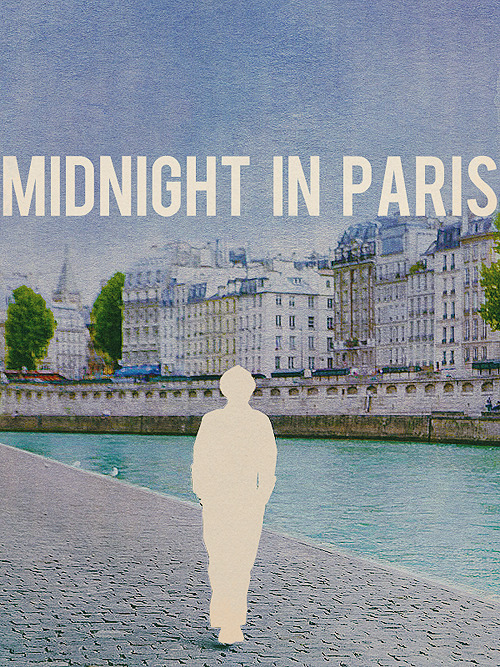 poster remake | Midnight in Paris