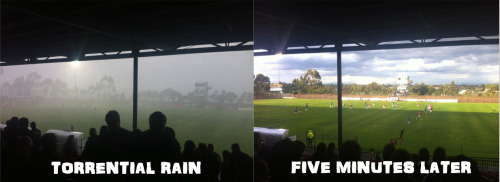 Melbourne weather.