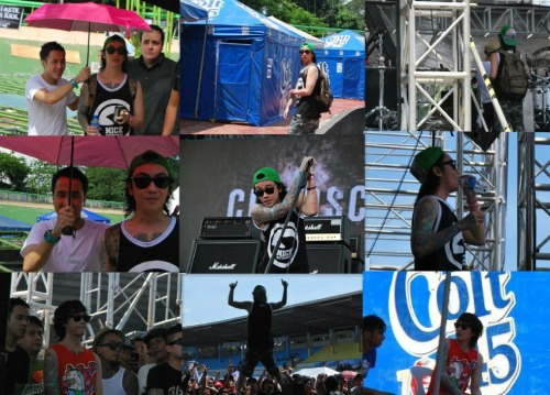 chinren:  paparazzi shots c/o my friend, Lara . @mggykills was everywhere… Pulp Summer Slam 12