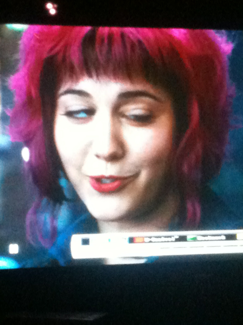 I love Scott pilgrim but I about pissed myself when I paused the movie here