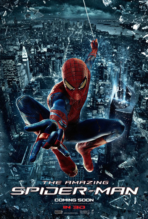 totalfilm:   The Amazing Spider-Man releases two new posters The Amazing Spider-Man has released a pair of new posters showing off the web-slinger's new suit in all its glory. And from the looks of those scratch marks, it seems as though Peter Parker is going to be put through the mill in his latest outing…  Related Posts