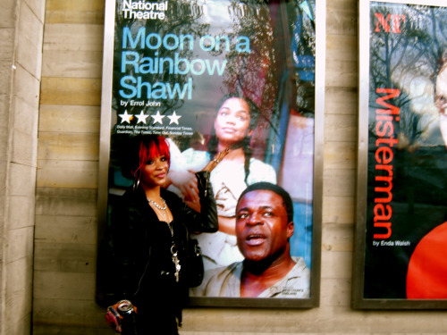 Went to see Tahirah in Moon On A Rainbow Shawl. Its a great play. Go and check it out!! <3 xxxxxx