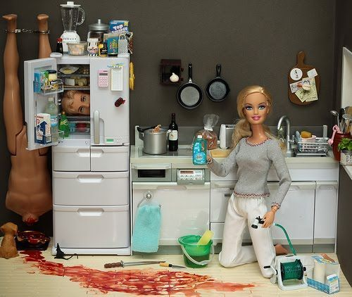 robertbenjaminsays:  Dexter Barbie
