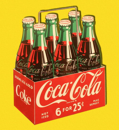 6 For 25 Cents - Coca Cola via: rogerwilkerson