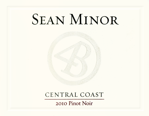 On our wine list: Sean Minor Pinot Noir 2010, California  with notes of Cherry, strawberry and  raspberry