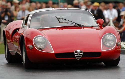 motoriginal:  '67 Alfa Romeo 33 Stradale - Track Car for the Road
