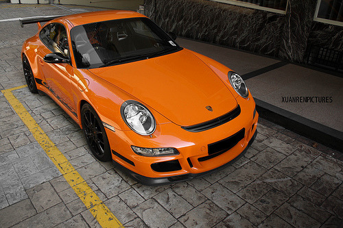 automotivated:  Porsche 911 GT3RS (by xuanrenpictures)