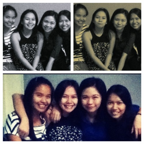9 years of friendship. My first ever bestfriends in Highschool. :)