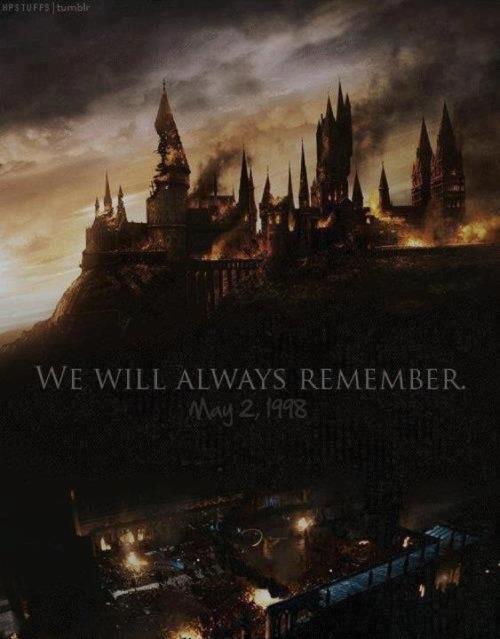 livingfor-harrypotter:  Today we remember the Battle of Hogwarts!