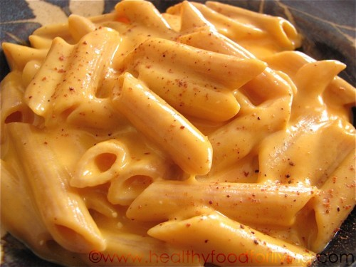 sciencingsara:  Sweet potato & brie mac 'n cheese. Edit: Click-through link to recipe added. Oops. I forgot the first time around.  Oh god….
